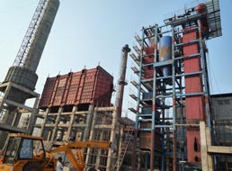 35t CFB Power Plant Boiler in India