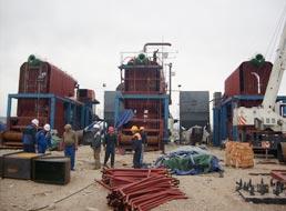 Mongolia 20 ton chain grate boiler
