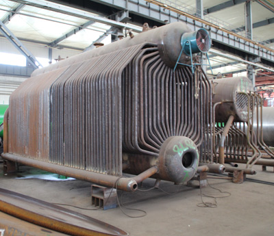 Chain Grate Coal Boiler Structure