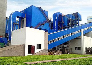corner tube biomass boiler