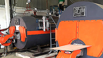Two Sets Of Gas fire tube Boiler in Beijing