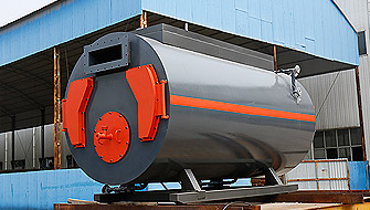3 ton gas fired hot water boiler exported to Indonesia