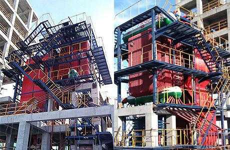 Mongolia 15 Ton CFB Boiler